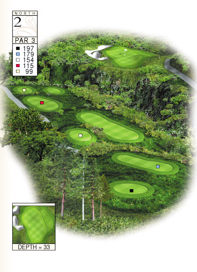 North Course Hole 2