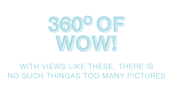360 degrees of wow